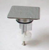 Chrome 68mm Square Top Basin Pop Up Plug - 74000029